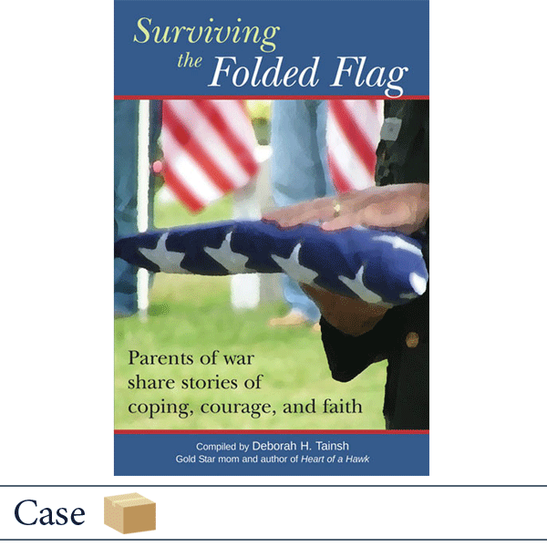 Case of 32 Surviving the Folded Flag by Deborah Tainsh