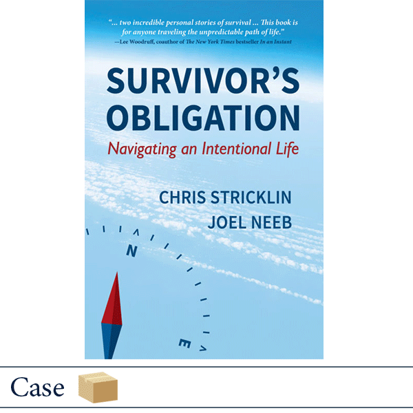 Case of 40 Survivor's Obligation: Navigating an Intentional Life by Chris Stricklin and Joel Neeb