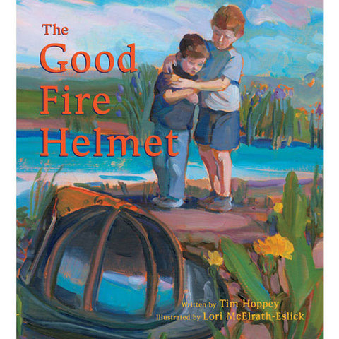 The Good Fire Helmet by Tim Hoppey and Lori McElrath-Eslick