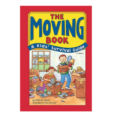 The Moving Book: A Kids' Survival Guide by Gabriel Davis, illustrated by Sue Dennen
