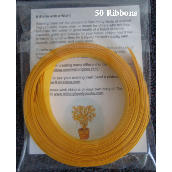 Wish Ribbons 50