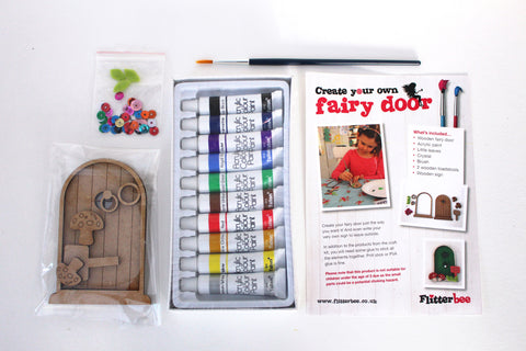 'Create your own' fairy door kit