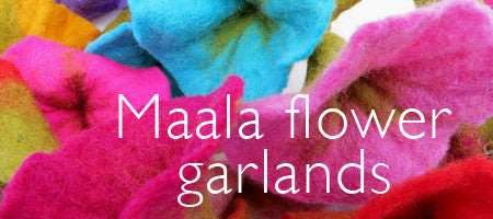 Maala flower garlands