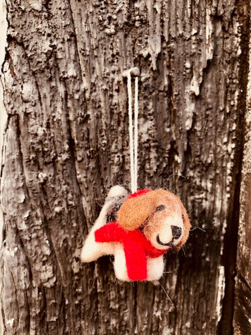 Terrier Tree Decoration