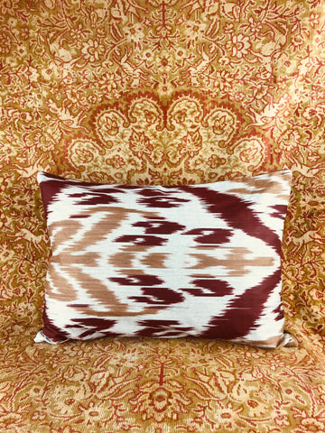 Sumptuous Ikat pillow