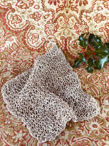 Hemp flannel wash cloth