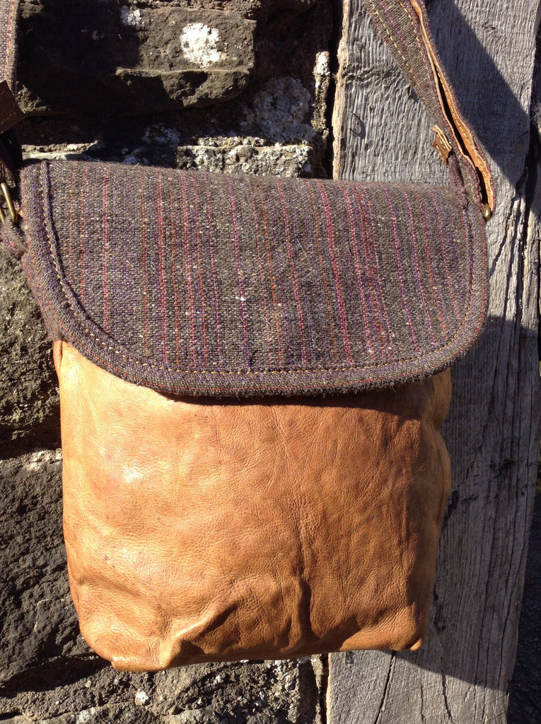 Aya Tweed Shoulder Bag