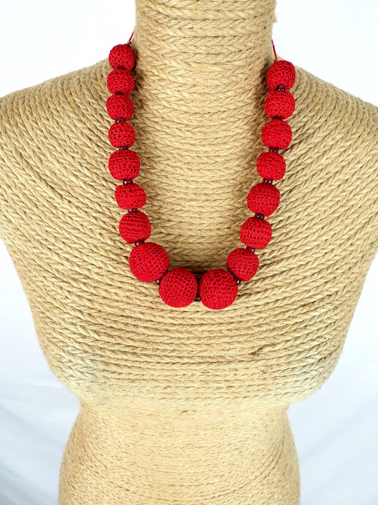 Crochet Necklace 01