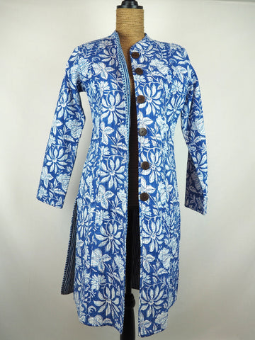 Nehru Coat French Blue 007