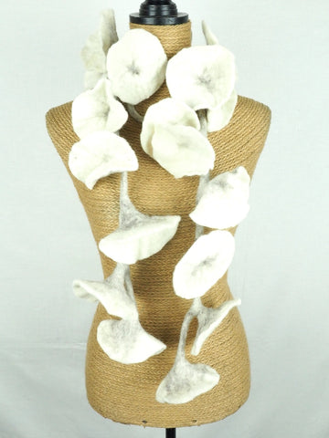 Flower Garland White