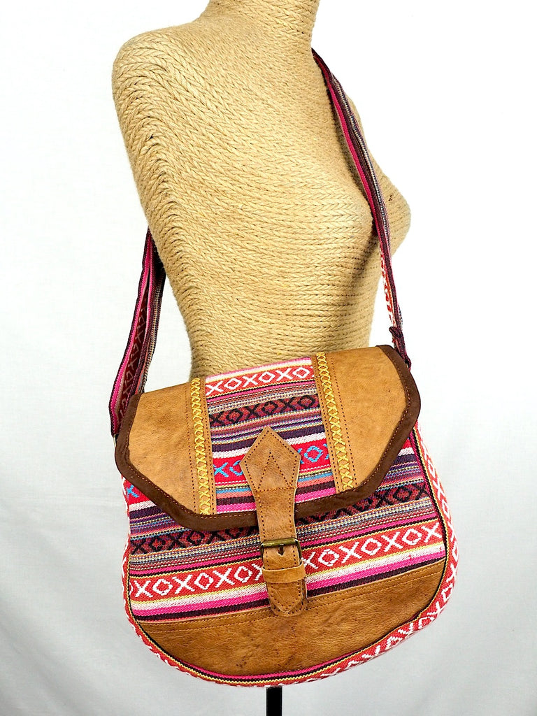 Cross-stitch Shoulder Bag 04
