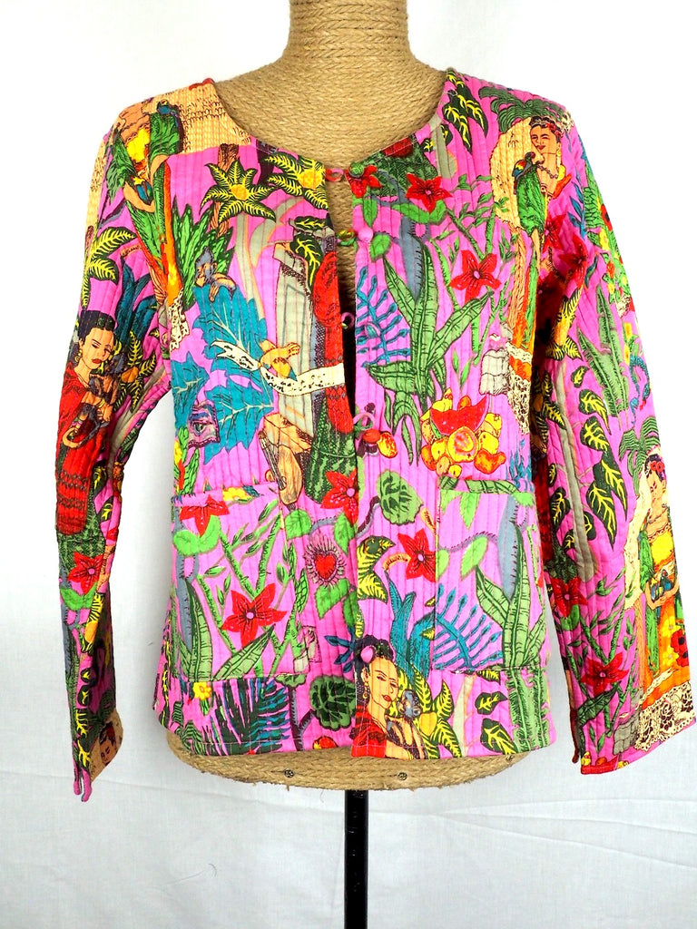 Collarless Frida Jacket 002