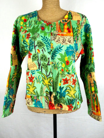 Collarless Frida Jacket 001