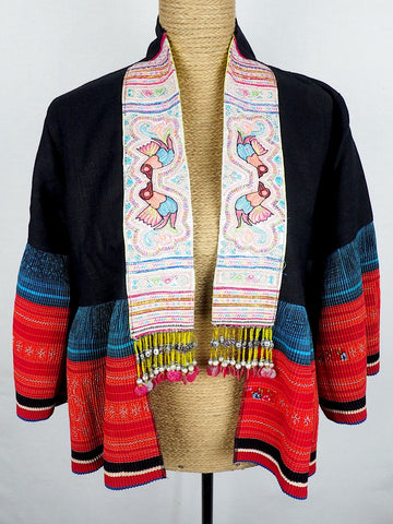 Embroidered Panel Jacket 02