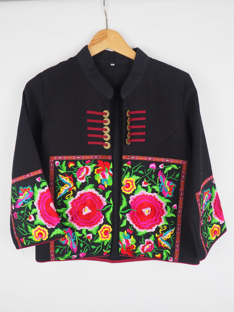 Lapsang Embroidered Tea Jacket 03