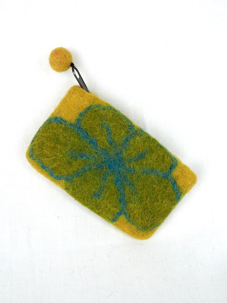 Felt Daisy Purse 05