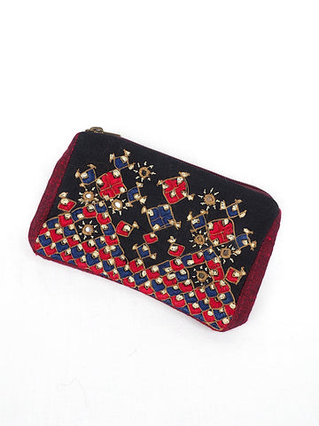 Embroidered Coin Purse 01