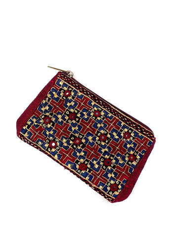 Embroidered Coin Purse 07