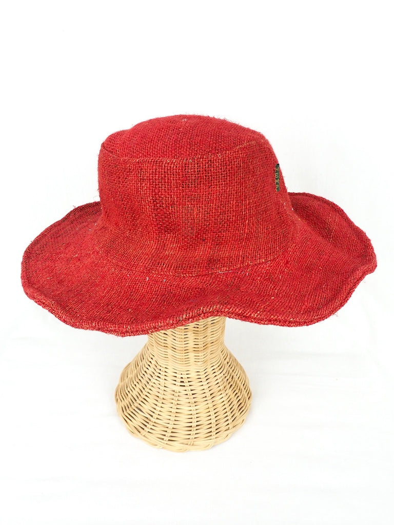 Hemp Hat Red