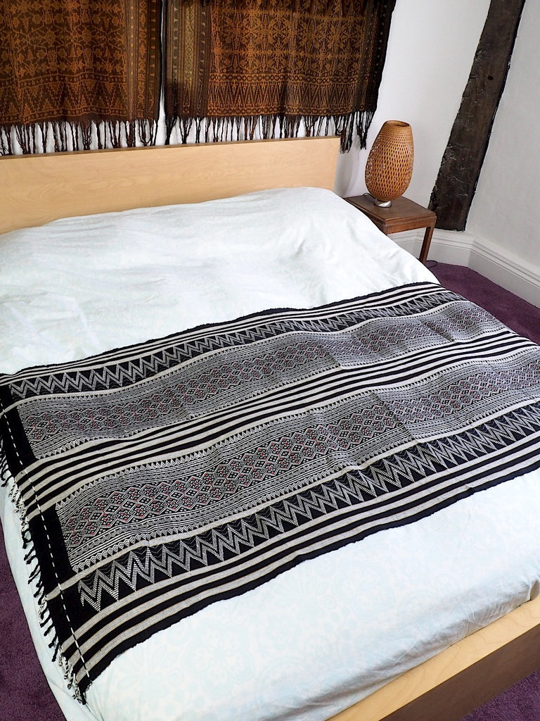 Burmese Woven Throw 001