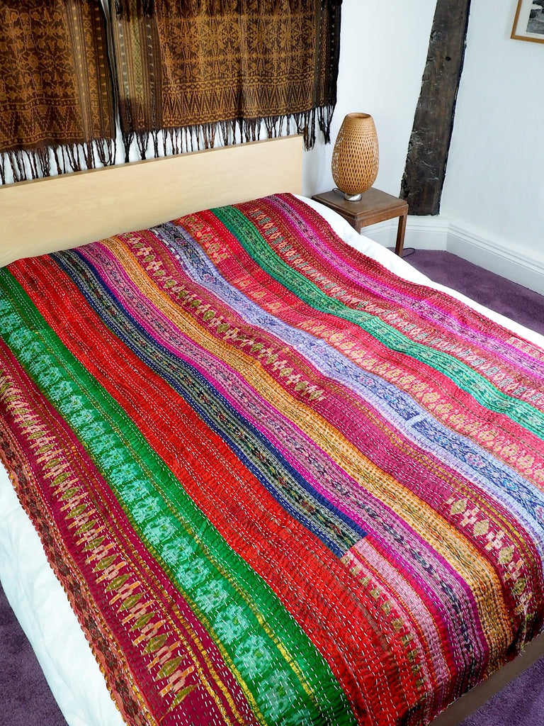 Patola Patchwork Throw 002