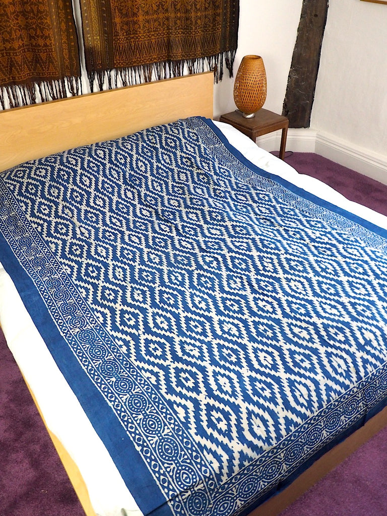 Blockprint Bedcover/Tablecloth 001