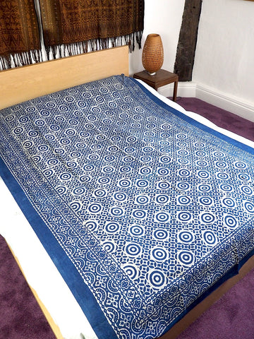 Blockprint Bedcover/Tablecloth 003