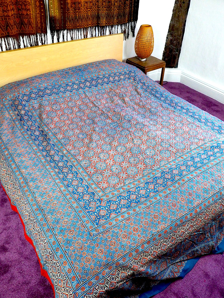 Blockprint Bedcover 008