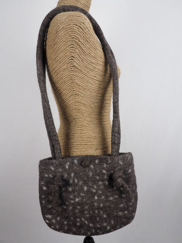 Knot Shoulder Bag Brown