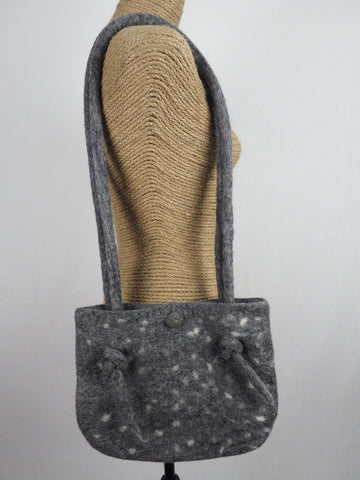 Knot Shoulder Bag Grey