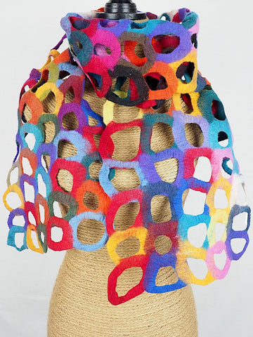 Sculptural Scarf 02