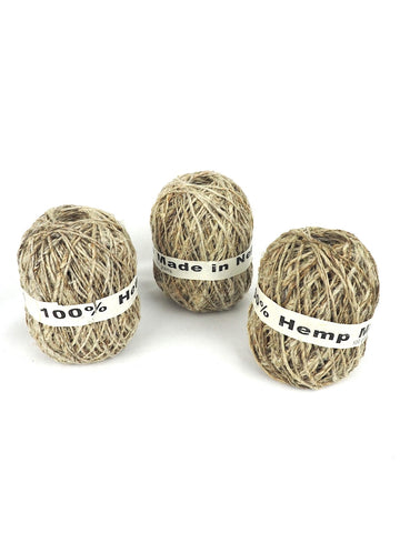 Hemp String Large 2 Pack
