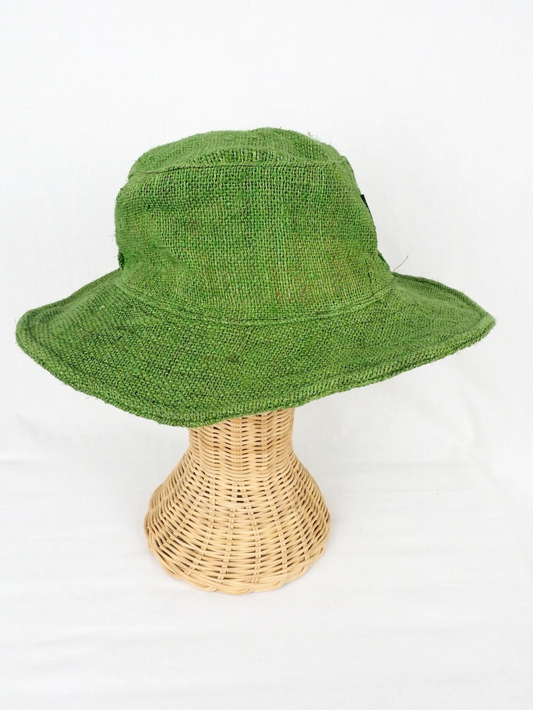 Hemp Hat Green