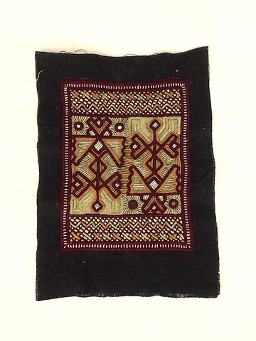 Small Embroidered Rectangular Panel