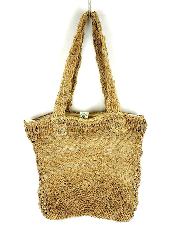 Crocheted hemp Bag
