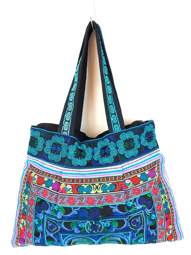 Embroidered College Bag 01