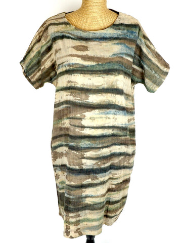 Ecoprint T-Shirt  Dress