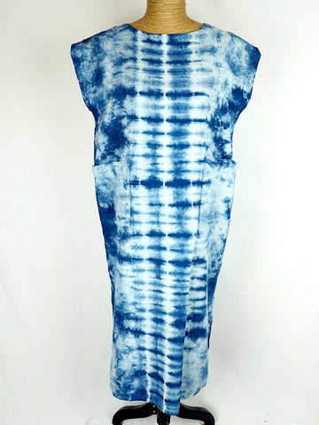 Indigo Tube Dress 01