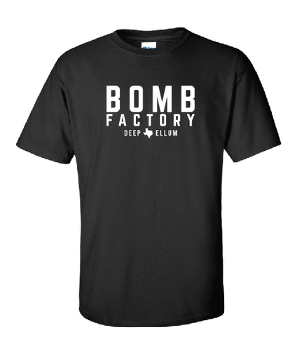 Bomb Factory Text T-Shirt