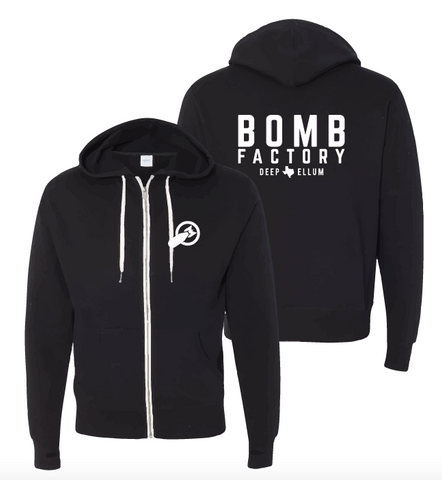 Bomb Factory Text Hoodie
