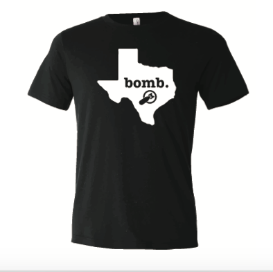 Bomb Factory Texas T-Shirt