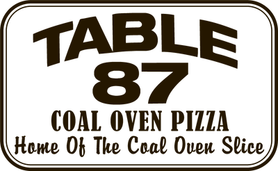 Table 87 Coal Oven Pizza