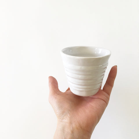 Handmade White Pot