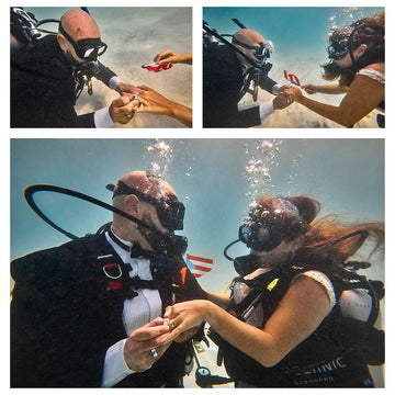 Underwater Wedding Puerto Rico's most sought-after professional photographer Edwin Solano