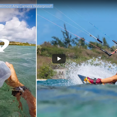 Kiteboarding Pro Jake Kelsick Reviews his favorite Imaging Solution - Outex Underwater Housing System