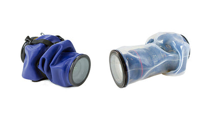 difference between blue and clear Outex waterproof covers