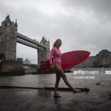 Alison Teal from Alison Adventures spreads Aloha in London with Olivier Morin