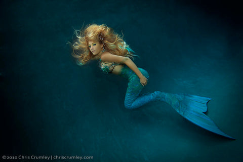 Outex underwater housing ambassador and model Kristina Sherk