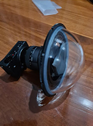 Sigma Photographer uses Outex for FP digital camera underwater 2