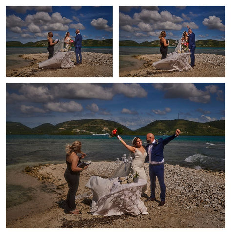 Underwater wedding in Puerto Rico with Outex ambassador Edwin Solano
